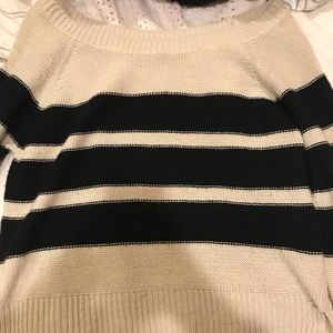 Essentials Tops - Tilly's Striped Sweater